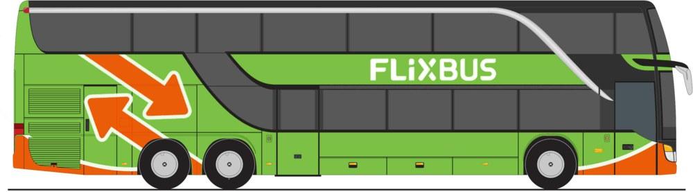 312-LC4470 SETRA S 431 DT FlixBus Minis M