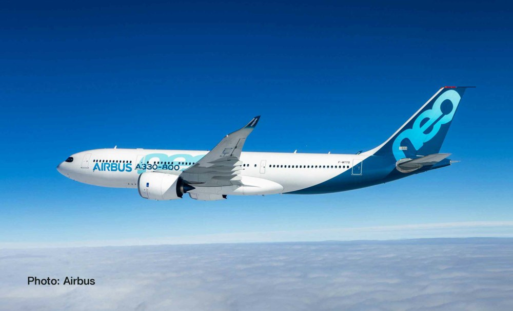 317-533287 Airbus A330-800 neo      Herpa