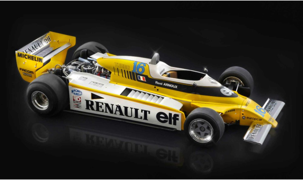 318-510104707 Renault RE 20 Turbo Italeri Mo