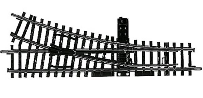 NEU + Märklin 2266 H0 K-Gleis Handweiche rechts 22°