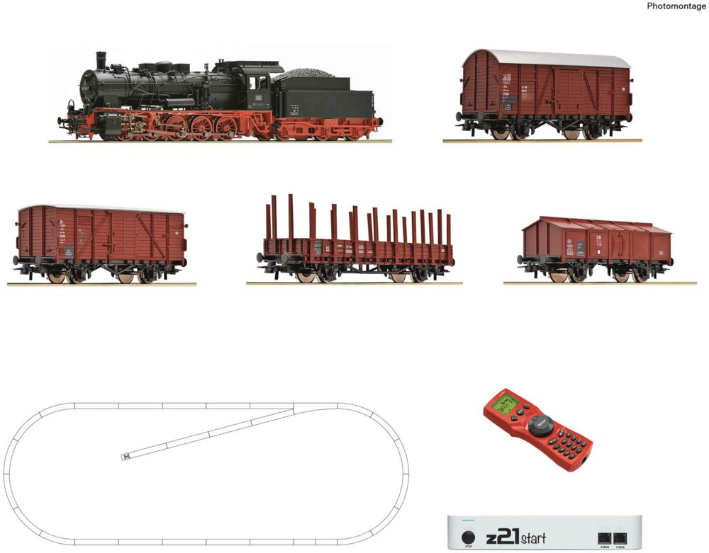 321-51318 z21 start Digitalset: Dampflok