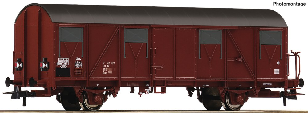 321-76611 Gedeckter Güterwagen der DR Ro