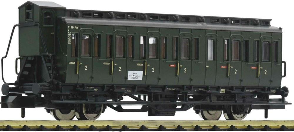 322-807101 2-achsiger Abteilwagen 2. Klas