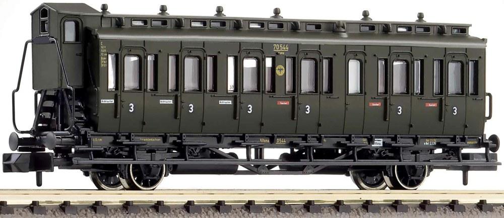 322-807104 Abteilwagen 3. Klasse, DRG Fle