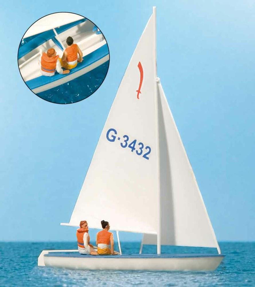 324-10676 Segler (1), Segelboot Korsar