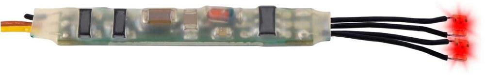 325-5272 Mini-LED rot, 2 Stück mit Mikr