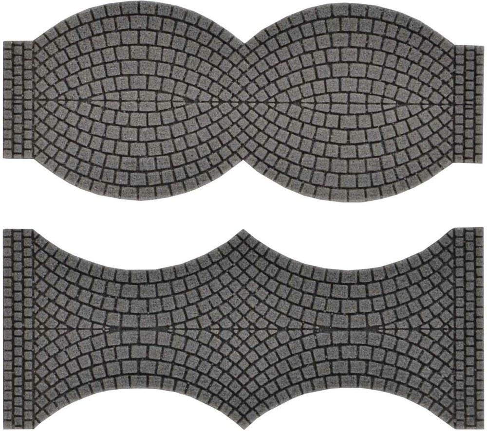 Vollmer 48244 H0 Straßenplatte Kopfsteinpflaster