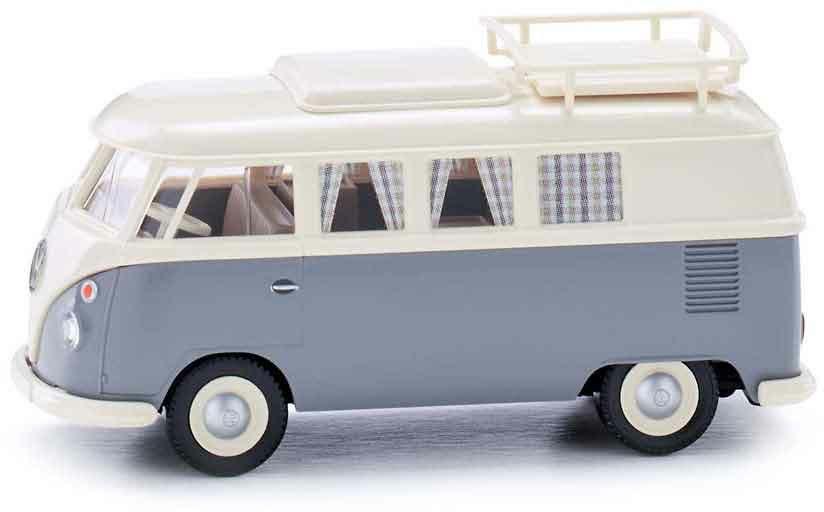 Wiking 1//87 H0 079724 VW T1 Campingbus NEU OVP perlweiß//grau