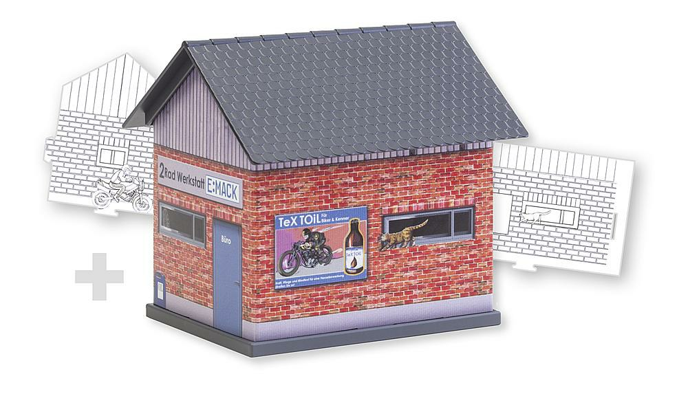 328-150130 BASIC Werkstatt Faller, Spur H