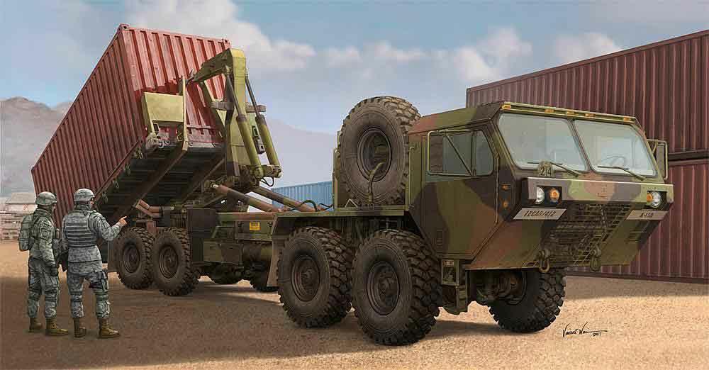 328-751053 US Lastkraftwagen M1120 HEMTT