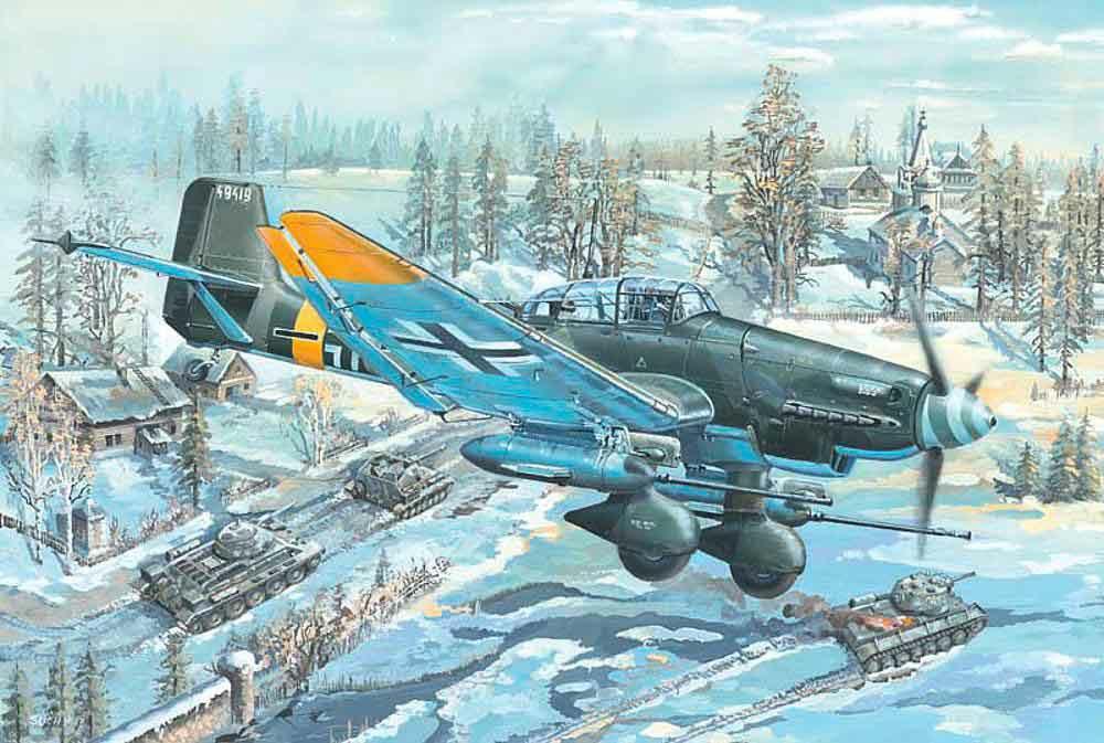 328-752425 Sturzbomber Junkers Ju-87G-2 S