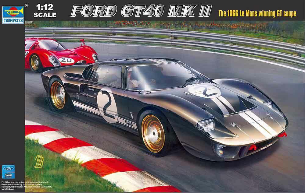 328-755403 Fahrzeug Ford GT 40 MKII Le Ma