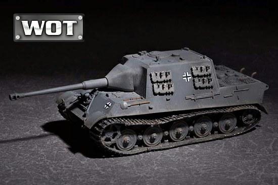 328-757166 Deutscher Jagd Tiger mit 88mm