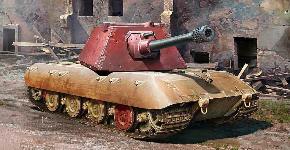 328-759543 E-100 schwerer Panzer – Krupp