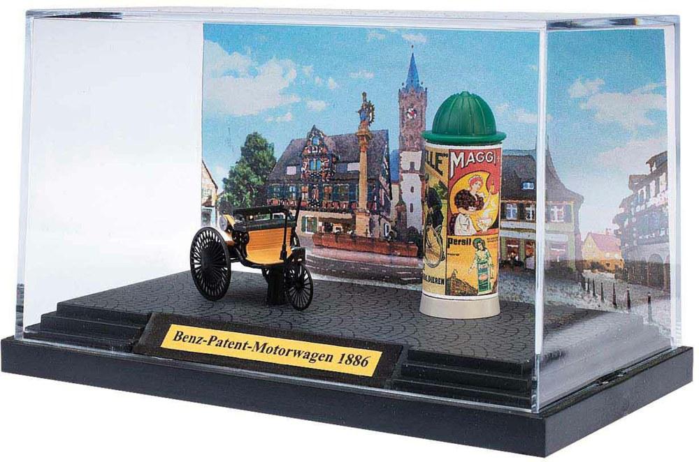 329-40006 Benz-Patent-Motorwagen mit Lit