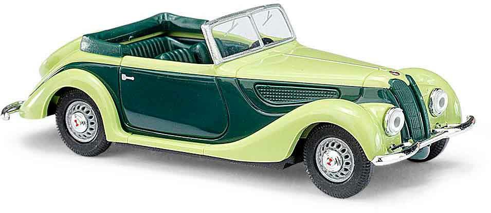 Grün Busch 40286 EMW 327 Cabrio »CMD-Collection« H0