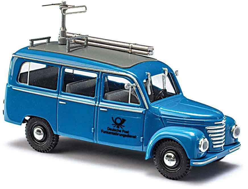 329-51259 Framo V901/2 Bus, Bus Blaue Po