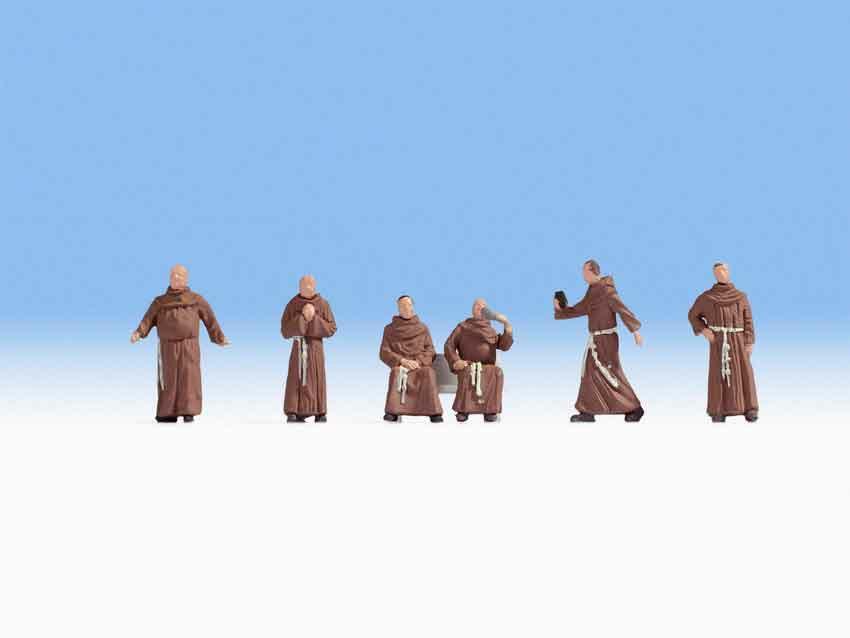 330-15401 Mönche (ohne Bank) Noch Modell