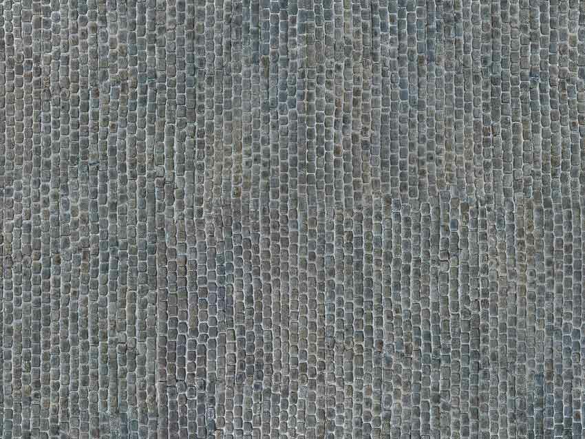 330-56721 3D-Kartonplatte Kopfsteinpflas