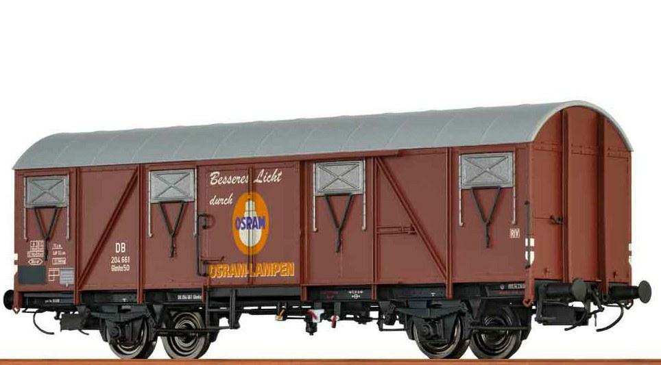 332-47283 Gedeckter Güterwagen Glmhs 50