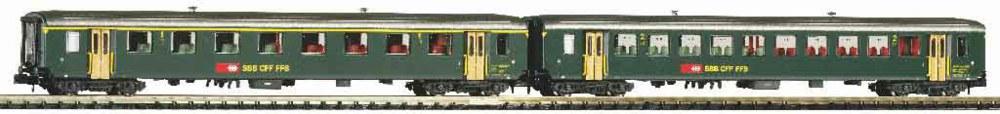 339-94392 2er Set EW I-Wagen 1. Klasse u