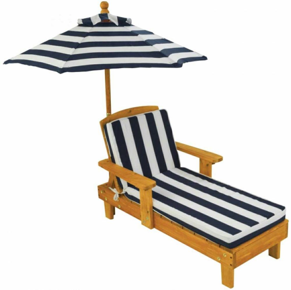 kidkraft 00105 0706943001059 kinder liegestuhl mit With französischer balkon mit kinder sonnenschirm