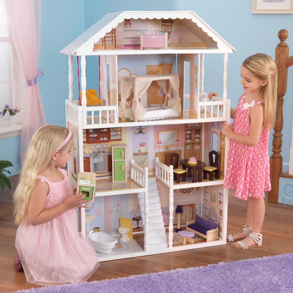 kidkraft 65023 0706943650233 puppenhaus savanna kidkraft ab 3 jahren f r modepuppen bis zu 30 cm. Black Bedroom Furniture Sets. Home Design Ideas