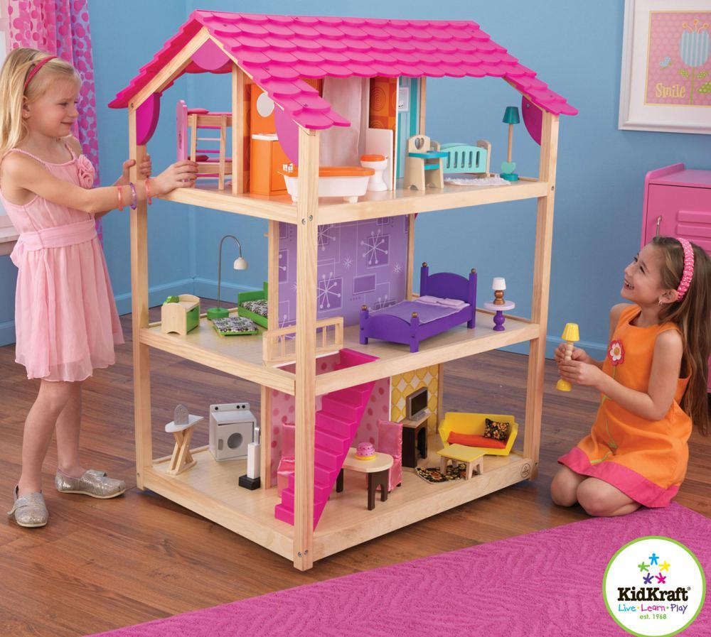 kidkraft 65078 0706943650783 puppenhaus so chic kidkraft. Black Bedroom Furniture Sets. Home Design Ideas