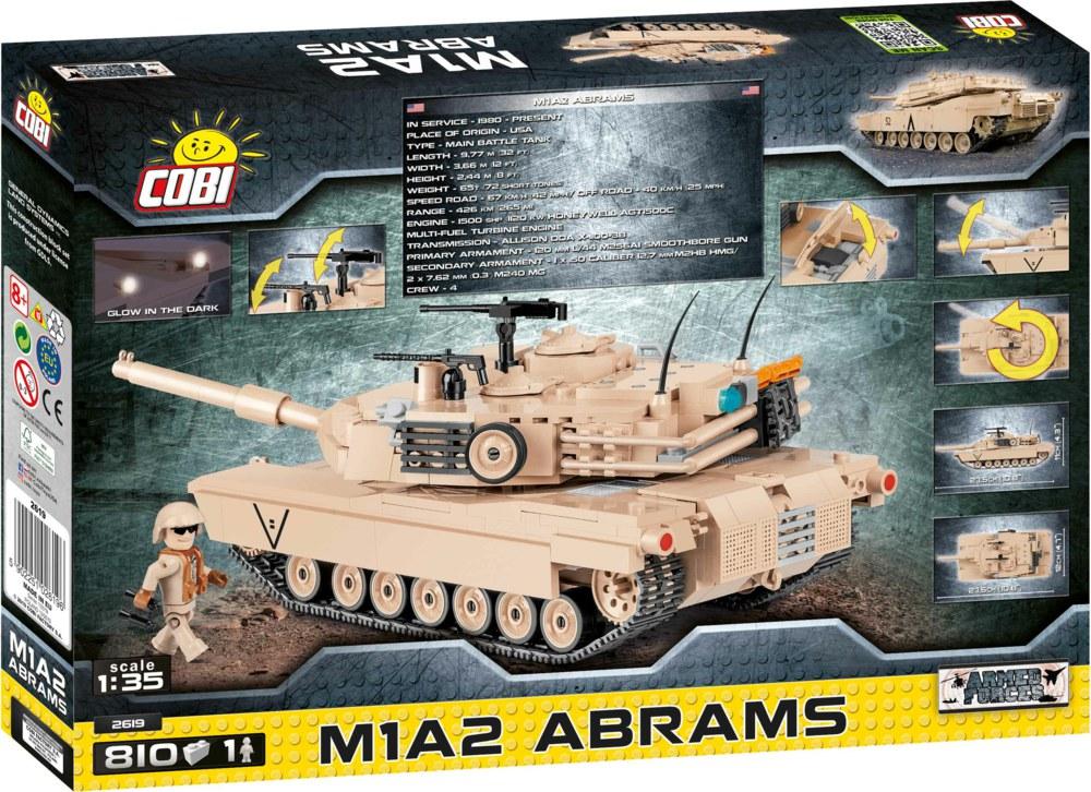 705-2619 Kampfpanzer M1A2 Abrams der US