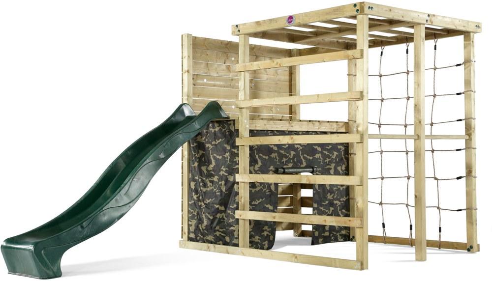 Holz Kletter Bogen : Plum holz kletter würfel mit rutsche