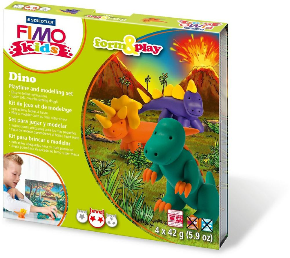 954-803407LY FIMO® kids form&play Set Dino