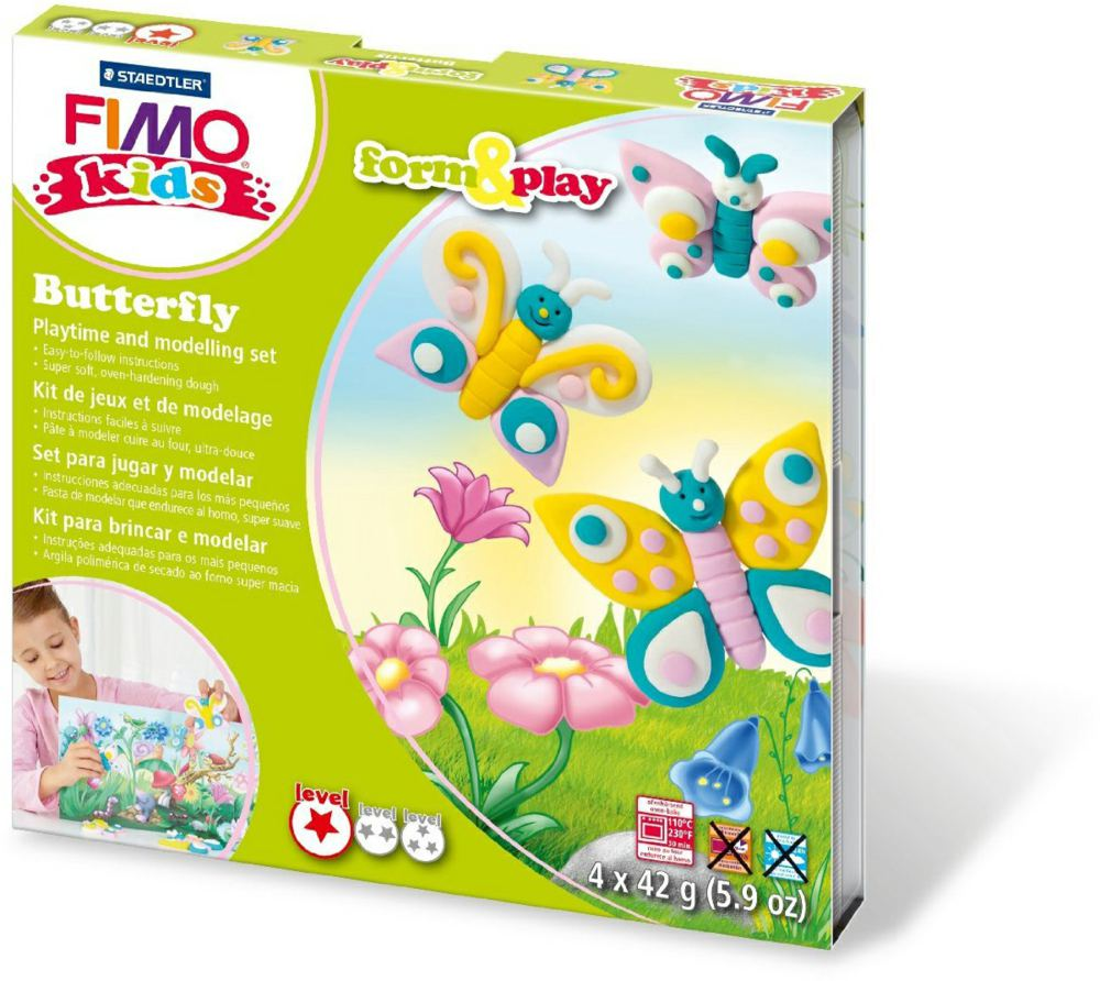 954-803410LY FIMO® kids form&play Set Schm