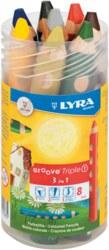 004-3833080 Lyra Groove Triple 1 Runddose