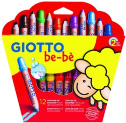 004-469700 GIOTTO be-bè 12 Super-Farbstif
