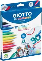 004-494900 GIOTTO Decor Textilmarker 12er