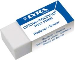 004-7413300 Radierer Kunststoff LYRA weiß