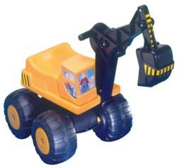 006-54410 Sitzbagger in gelb Mobby Dick