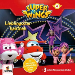 009-8592833 CD Super Wings 6: Lieblingssta