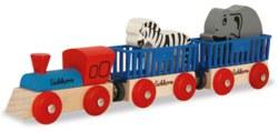 020-100001351 Lok mit 2 Wagons und 2 Tieren