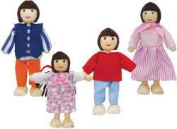 020-100002500 Puppenhaus Familie Eichhorn Pu