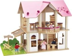 020-100002513 Villa mit Möbel und Figuren Ei