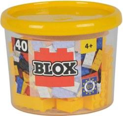 020-104118857 40 Blox Steine in Dose, gelb