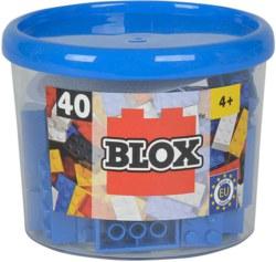 020-104118881 40 Blox Steine in Dose, blau K