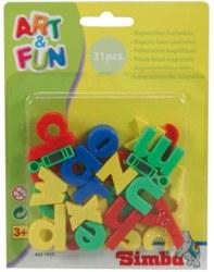 020-104591455 Magnet-Kleinbuchstaben Simba,