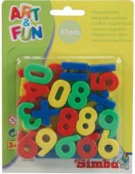 020-104591457 Magnet-Zahlen/Zeichen Simba, a