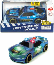 020-203763001 Lightstreak Polizeiauto Dickie