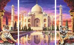 020-609260435 Malen nach Zahlen: Taj Mahal -