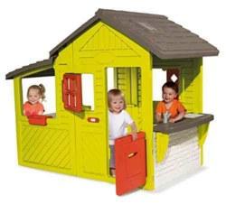 020-7600310300 Spielhaus Neo Floralie grün Sm
