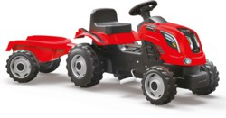 020-7600710108 Smoby Traktor Farmer XL, rot K