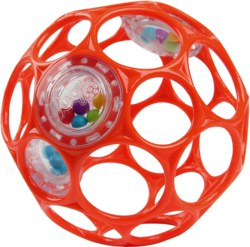 022-28686 Oball Rattle 10 cm - Rot Kids